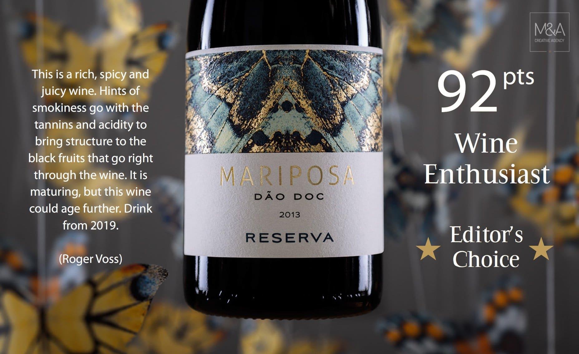 Wine Enthusiast マリポサ